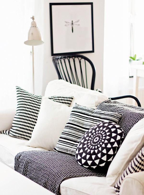 17 beste afbeeldingen over zwart wit black white op pinterest zwart wit slaapkamers - Deco corridor zwart wit ...
