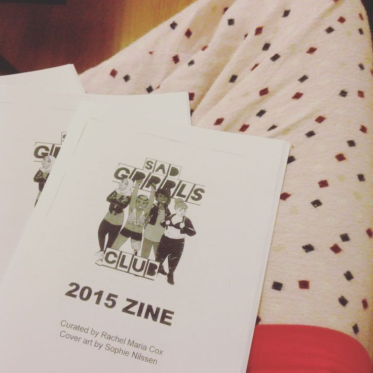 Our zine and some PJ pants