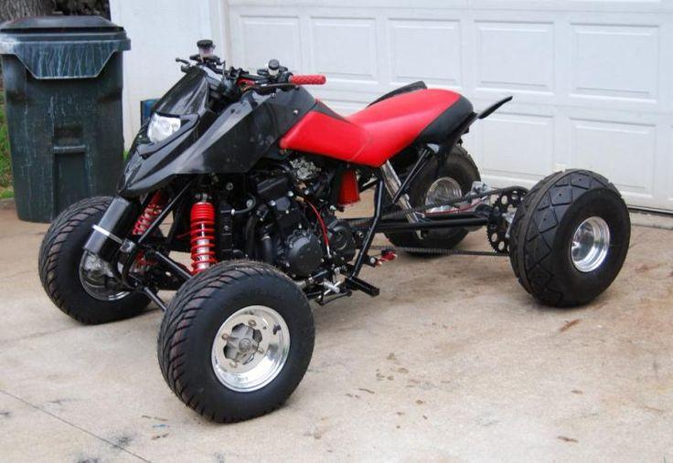 Custom Built Atv Zx14 Motor 7500 Hardtimes Custom