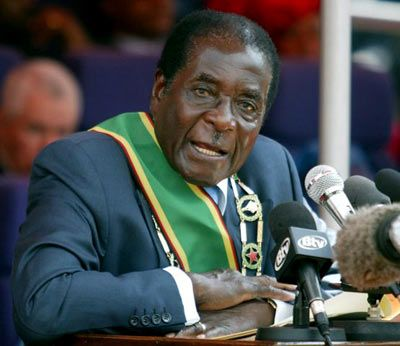 Racism speech – Robert Mugabe: Racism will never end as long as: 1. White cars using black tires.  2. We wash first white clothes, other colors later. 3. Black to symbolize bad luck and white for peace. 4. People wear white at weddings and black at funerals  5. Who don't pay bills are blacklisted not whitelisted. 6. In snooker, you haven't win until you sink the black ball, and the white ball must remain.  BUT I don't care, I'm still using WHITE toilet paper to wipe my BLACK ..., I'm FINE!