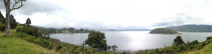 La laguna de la Cocha, Nariño