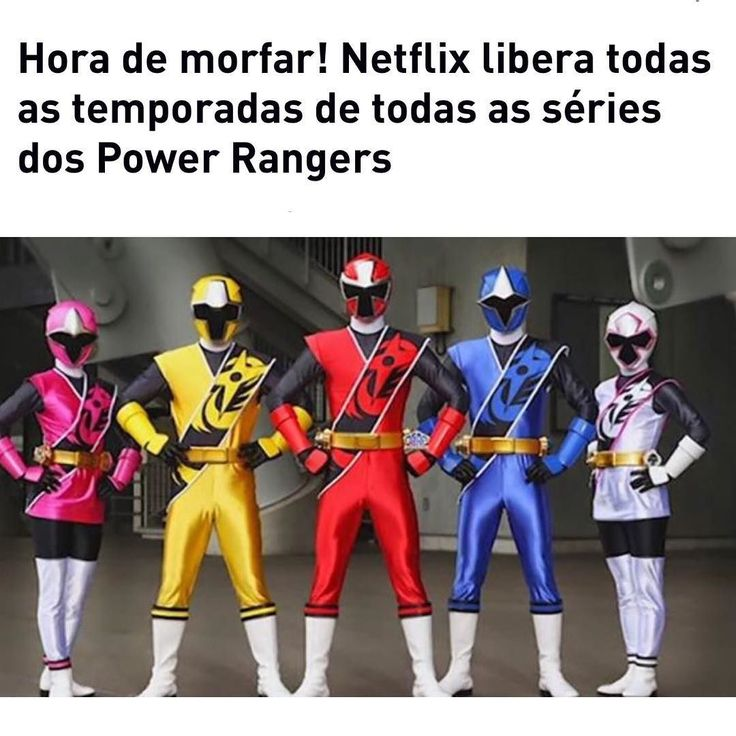 Dica nerd de raiz: a @netflixbrasil liberou todas as temporadas de #powerrangers! Segundo o @jovemnerd tem temporadas de 21 programas diferentes: Power Rangers Power Rangers Dino Super Charge Power Rangers Dino Charge Power Rangers Força Mística Power Rangers Samurai Power Rangers Força Animal Power Rangers Dino Thunder Power Rangers Dino Storm Power Rangers Super Mega Force Power Rangers Jungle Fury Power Rangers SPD Power Rangers Turbo Power Rangers Space Power Rangers Mega Force Power…