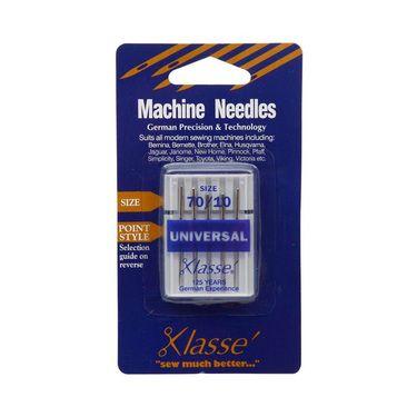 AU$4.99 plus postage Klasse Universal Sewing Machine Needles Silver from Spotlight Australia (price correct as at 01/10/17)