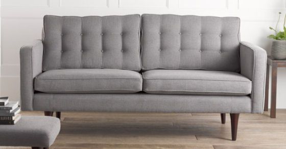 Part of the new Bhs furniture collection, the Lennon Sofa  is a neat 175 cm wide and 86 cm deep.