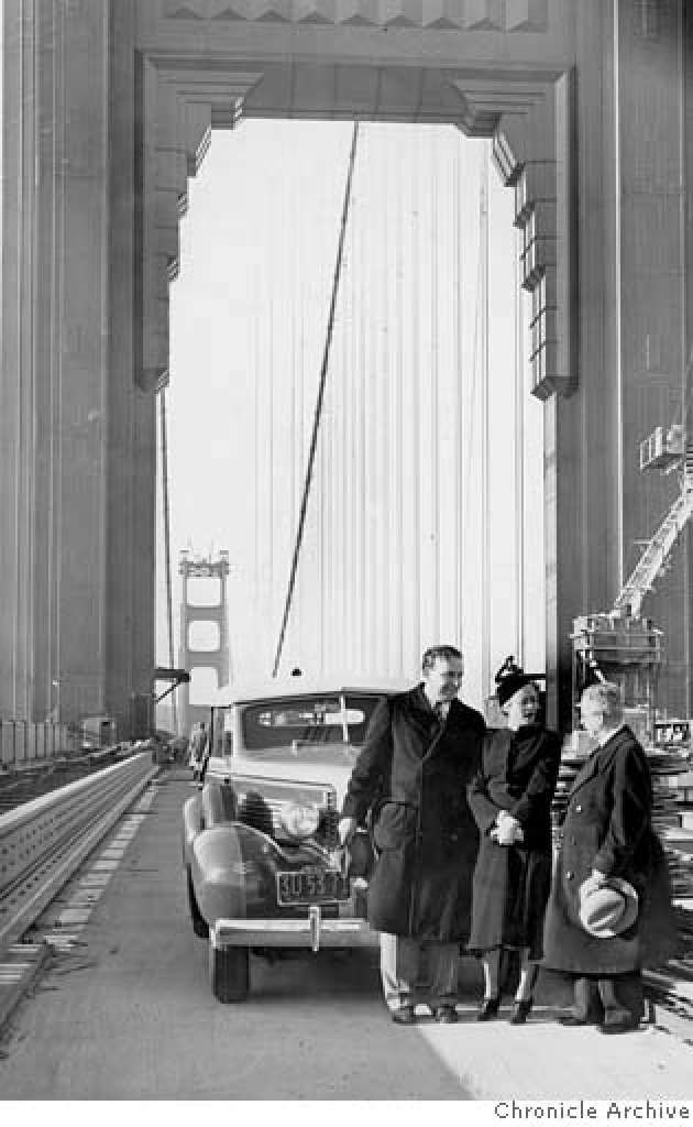 From the Archives the Golden Gate Bridge