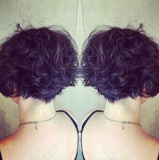 22 Graduado lindo Bob peinados: Corte de pelo corto Diseños                                                                                                                                                                                 Más