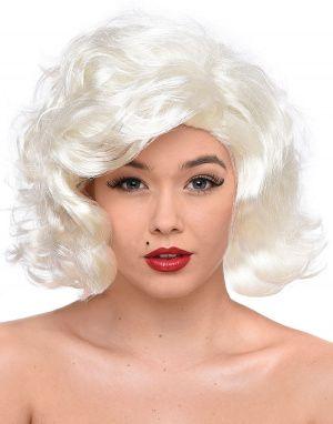 Lys Blond Marilyn Monroe Inspirert Parykk