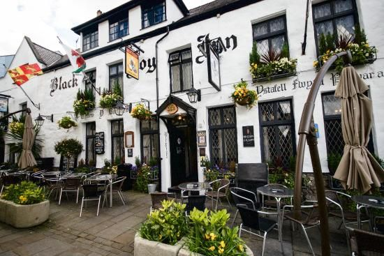 Black Boy Inn  Caernarfon Wales