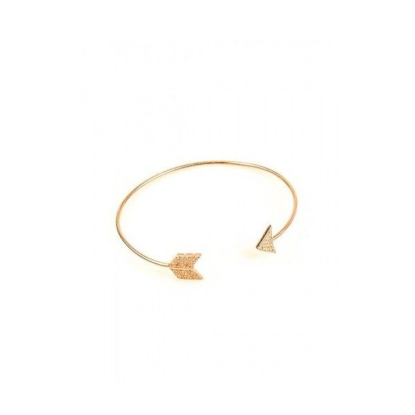 Vanessa's Joy Gold Plated Silver Bracelet via Polyvore featuring jewelry, bracelets, bracelet bangle и bracelet jewelry