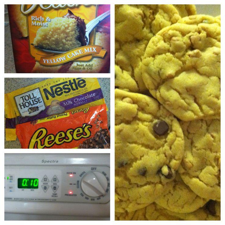 Cake mix recipes on Pinterest | Cake mixes, Yellow cake mixes and Cake ...