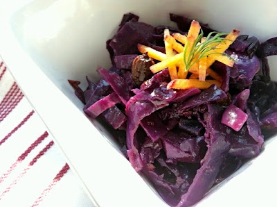 The Canary Files: Sauteed Purple Cabbage with Curried Caramelized ...