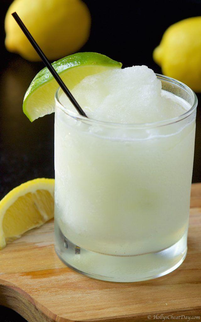 frozen-coconut-lemonade| HollysCheatDay.com
