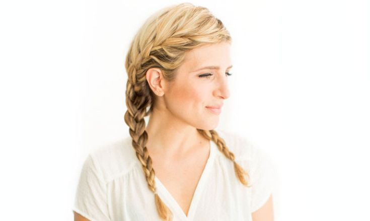 DIY Beauty   French Braid Pigtails