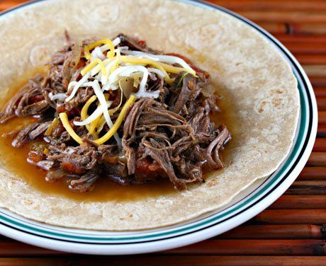Slow Cooker Cuban-Style Ropa Vieja Recipe from The Perfect Pantry [via ...