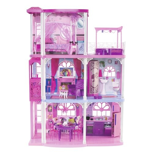 Stunning Mattel Barbie Dream House Story Dream Townhouse Pink Dollhouse New