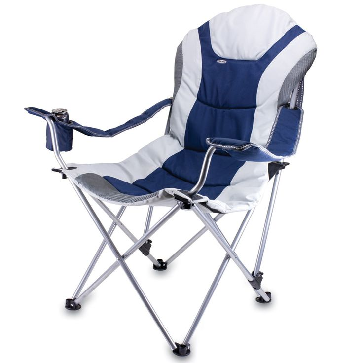 The Reclining Camp Chair is no ordinary camp chair.