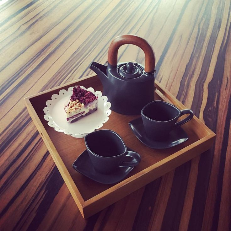 My addictions to Life • Tea for two during raining Saturday afternoon at...
