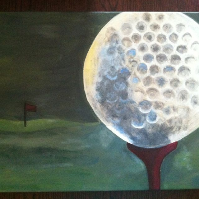 Golf painting for my brotha