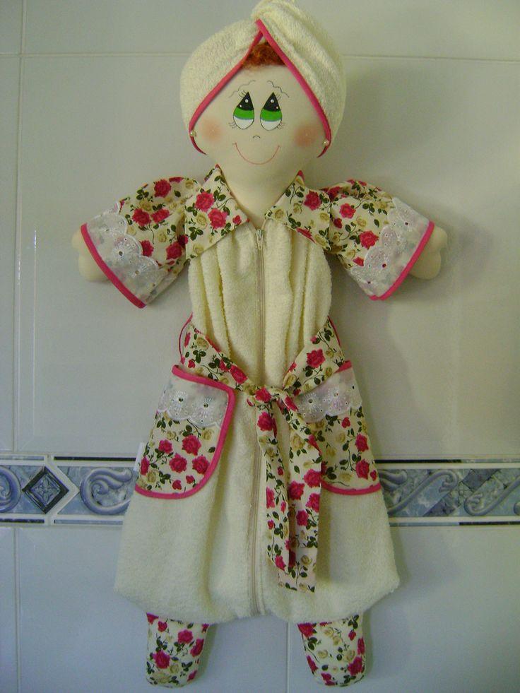 19 modelos bonecas porta papel higi nico com molde e passo for Accesorio para papel higienico