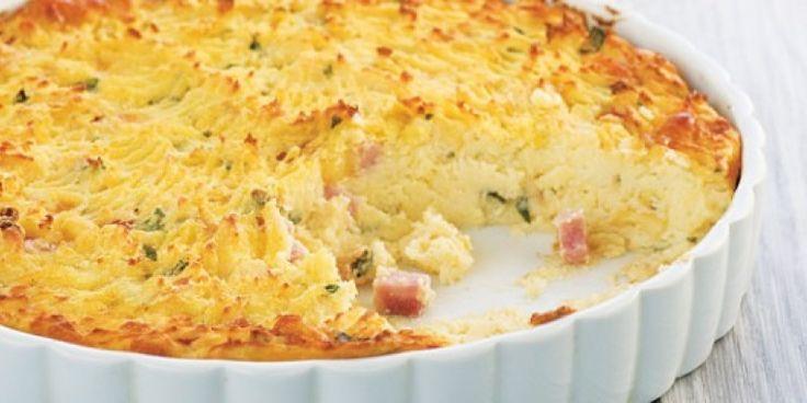 Πικάντικη πίτα, κατάλληλη για πρώτο πιάτο μαζί με μια πράσινη σαλάτα, αλλά και για σνακ στο σχολείο ή το γραφείο.