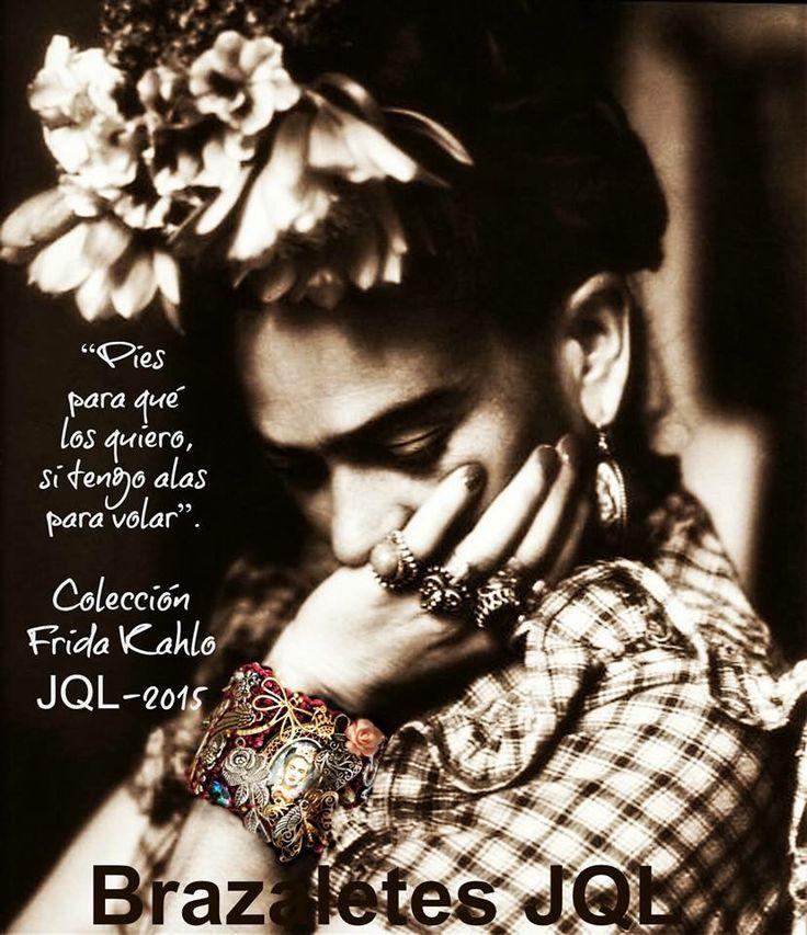 Colección #Frida #Kahlo JQL-2015  síguenos por Facebook, #Brazaletes JQL www.brazaletesjql.com www.jqlusa.com lo mejor en accesorios #handmade aquí los encontrarás ✔️