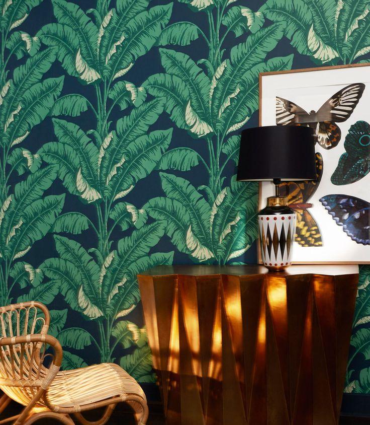Retro Tapeten Dunkelgr?n : Gr?n on Pinterest Design Tapeten, Wallpapers and Gardinen G?nstig