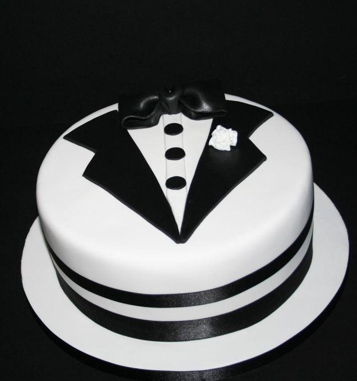 Tuxedo Cake - Cake by Kickshaw Cakes