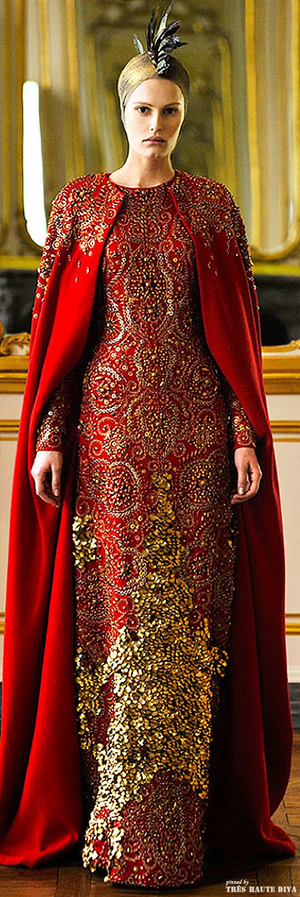 367 best red and gold images on pinterest red fashion for Mac alexander mcqueen