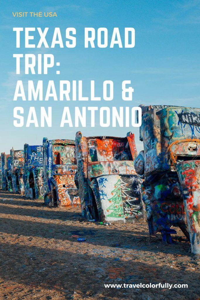 Interactive Map Usa Road Trip%0A A Texas Road Trip  San Antonio and Amarillo