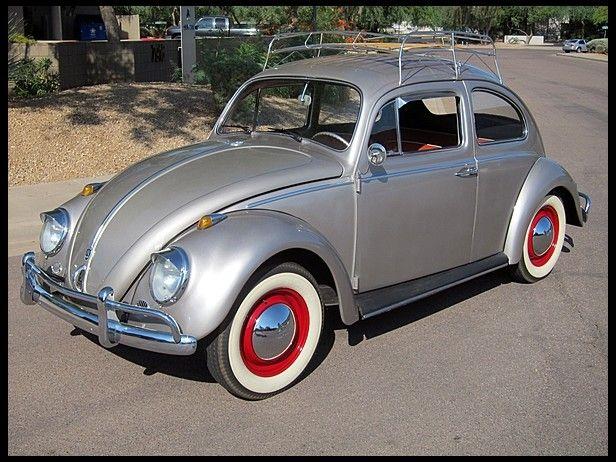 1960 Volkswagen Beetle  #Mecum #Monterey