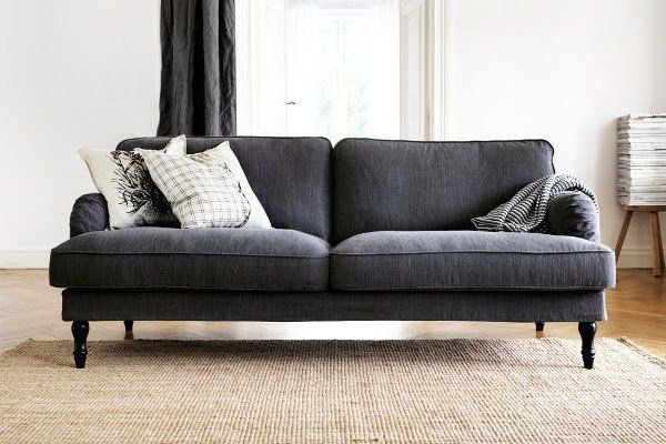 New couch to go see at IKEA. Cover is washable...Yes Please! stocksund sofa reviews - Bing Images