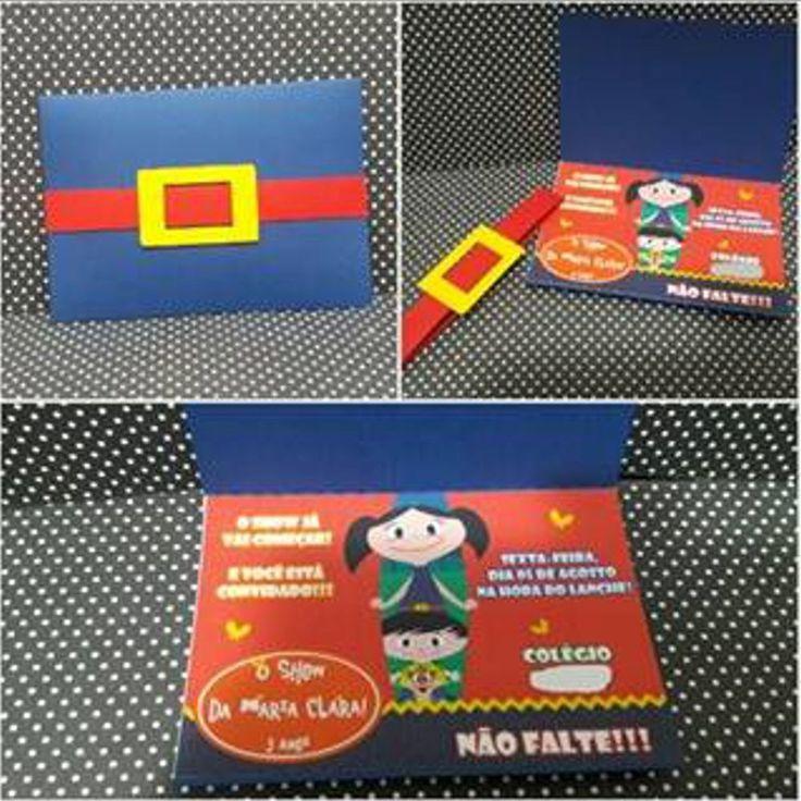 Convite confeccionado em papel 180g (opaline e color plus.