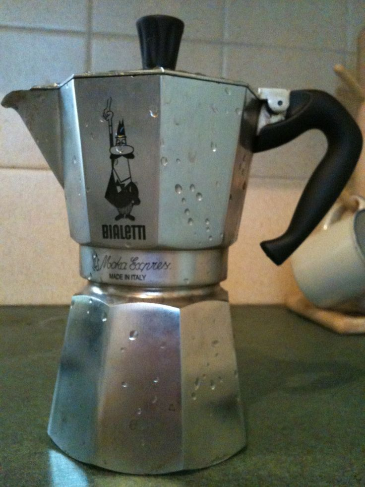 How To Make Perfect Stovetop Espresso Coffee with a Bialetti Moka Pot  I researched an espresso maker for weeks and found this one is the BEST!  It's sits on my stove and I use it in between pots of coffee for a real treat!  Its a great addition to a coffee lovers kitchen!