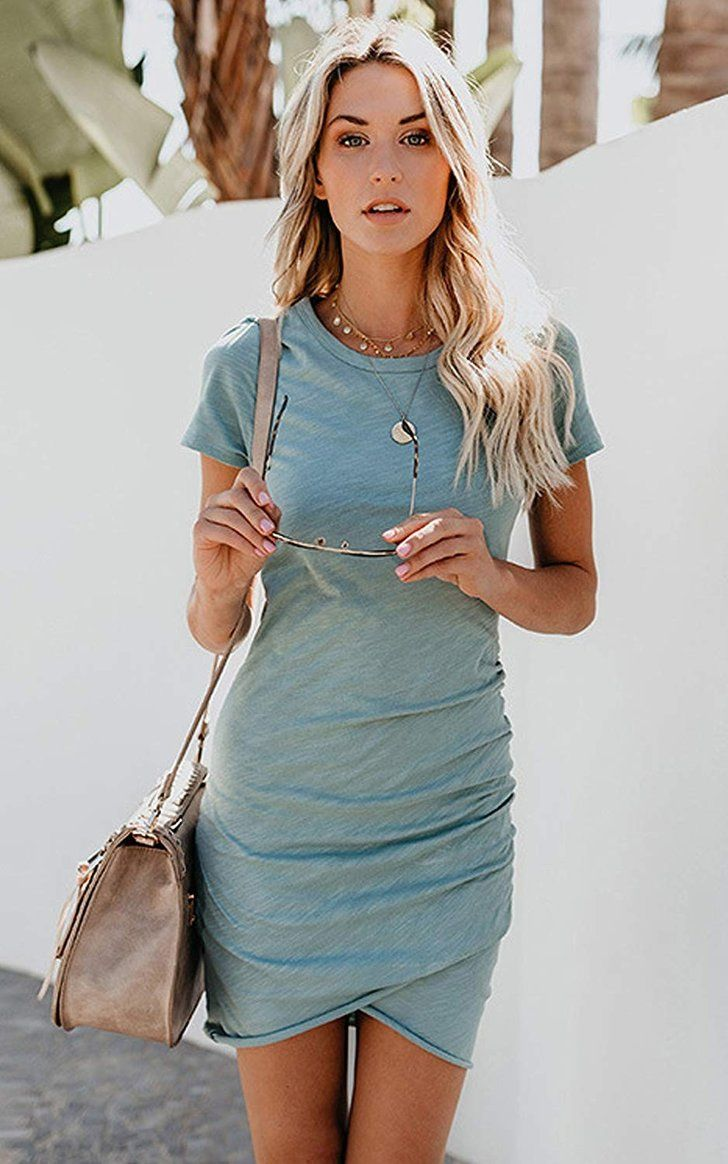 If You Love Being Comfy 24 7 These T Shirt Dresses From Amazon Are For You Summer Fashion Dresses Fashion Summer Dresses For Women [ 1164 x 728 Pixel ]