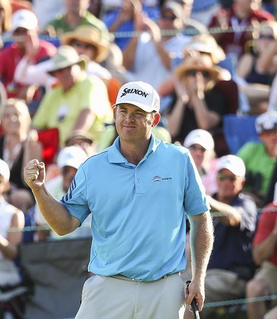 JB HOLMES wins Wells Fargo #Golf Championship in Quail Hollow!