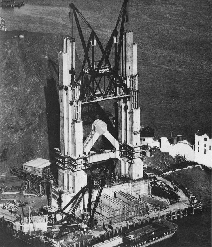 The Marin tower of the Golden Gate
