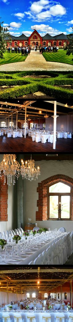 One idea for a venue. The Chateau Tanunda holds a lot of memories for me
