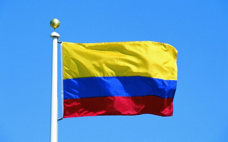 Flag of Colombia wallpaper