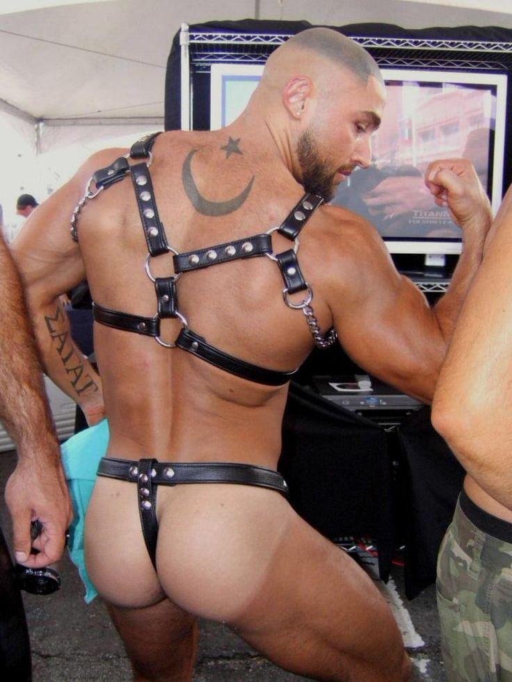 Francois sagat and more muscular men pissing 4