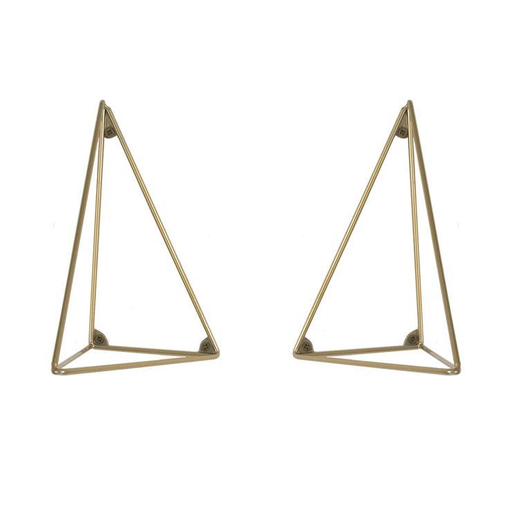 Pythagoras+Konsoll+2+pakk,+Messing,+Maze