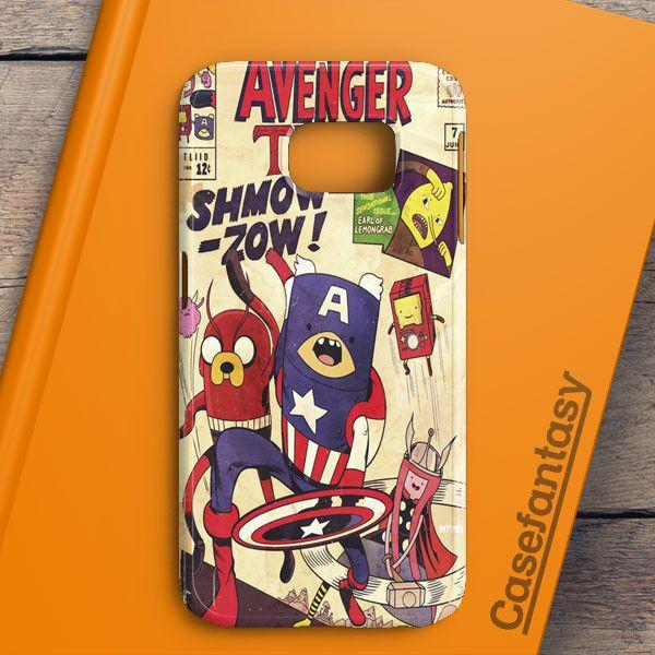 Avenger Time Samsung Galaxy S6 Edge Plus Case | casefantasy