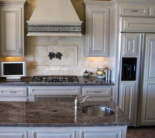 Kitchen Backsplash Designs, Pictures And Ideas For Tile Backsplashes By  Artist And Designer Linda Paul