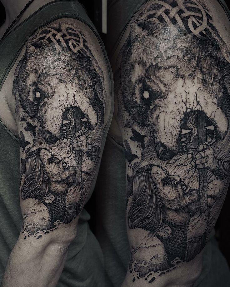 25+ best ideas about Fenrir tattoo on Pinterest | Tatouage ...