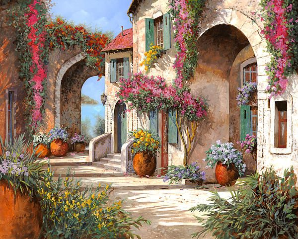 Beautiful painting by Guido Borelli