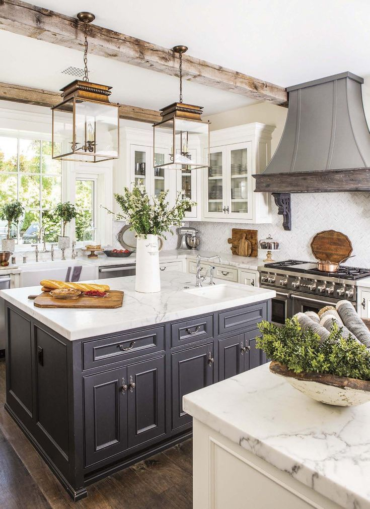 beautiful kitchen with awesome hood four walls a roof kitchen rh pinterest com
