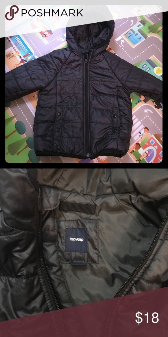 Gap winter jacket Warm puffer jacket with hood. Dark grey GAP Jackets & Coats Puffers