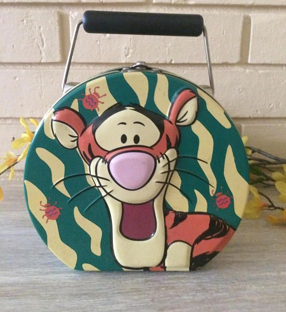 Vintage Child's Tin Lunch Box Tony The Tiger Home and
