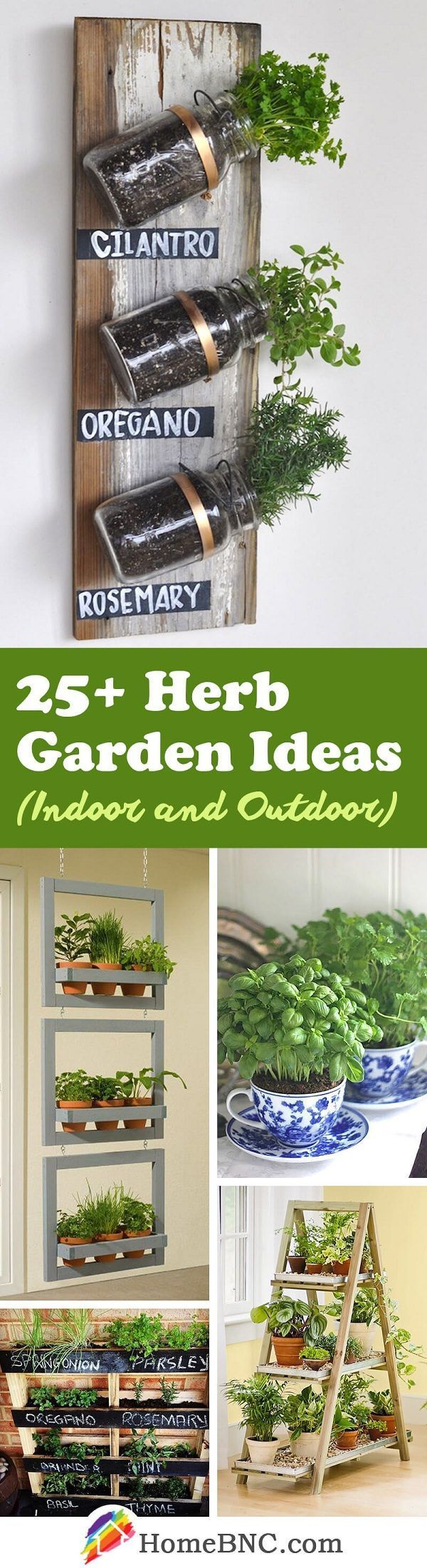 These 25 Herb Garden Ideas for Indoors