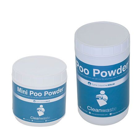 Ezygonow-Poo-Powder-Waste-Treatment | Gels and solidifies liquid waste to a solid. Once activated by a liquid it encapsulates solid waste, controls odour and contains a decay catalyst to break down solid waste #wastetreatment #portabletoilet #camping #camptoilet #outdoors