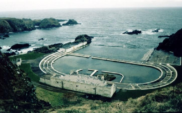 Tarlair Open Air Swimming Pool Near Macduff Opened In The 1930 39 S Norman 39 S Scotland
